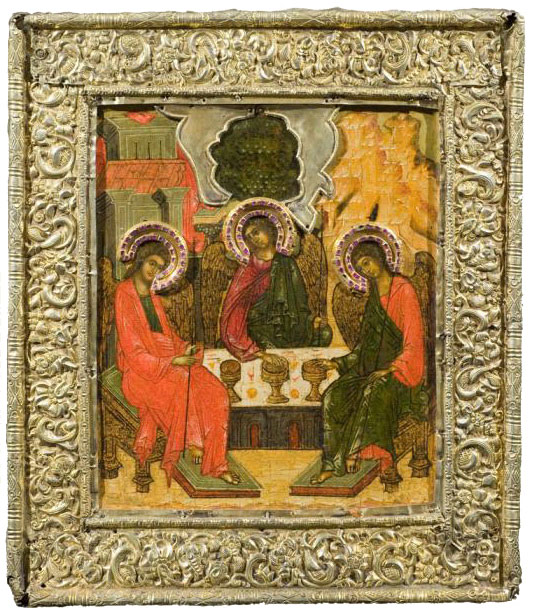 """The tradition to protect the most revered icons with the """"oklad,"""" a ...: rbth.com/longreads/Russian_icons"""