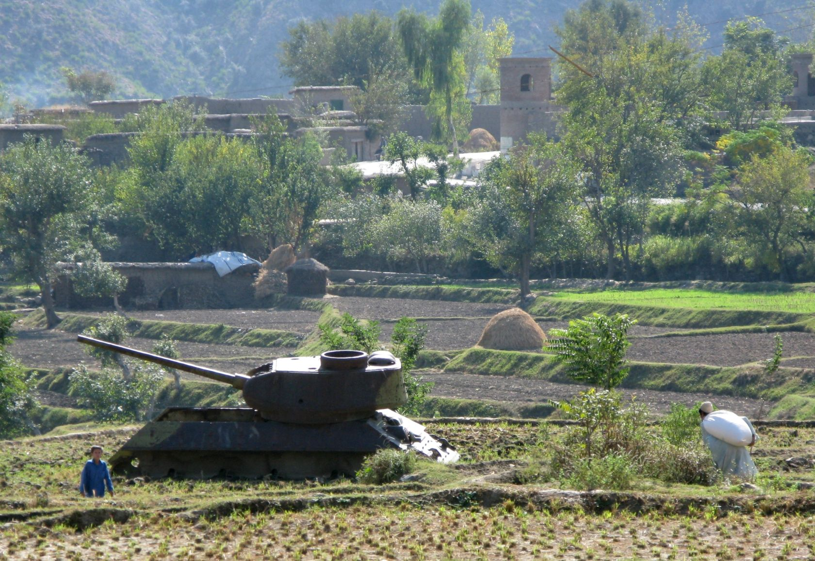 Russia, the USSR and Afghanistan, yesterday and today